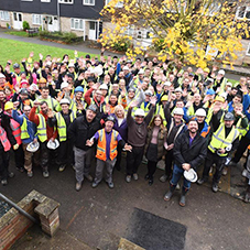 BAL support DIY SOS in Suffolk